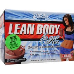 LABRADA Lean Body for Her Chocolate Ice Cream 20 pckt