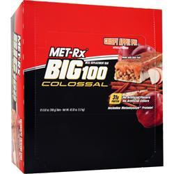 MET-RX Big 100 Colossal Bar Crispy Apple Pie 12 bars