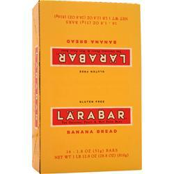 LARA BAR LaraBar Banana Bread 16 bars