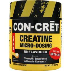 Con-Cret Creatine Micro-Dosing Powder Unflavored 36 grams