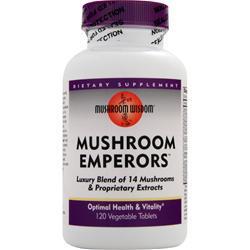 MUSHROOM WISDOM Mushroom Emperors 120 vcaps