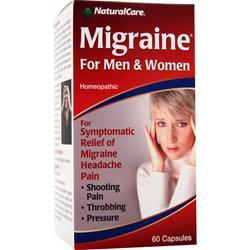 NATURAL CARE Migraine For Men & Women 60 caps