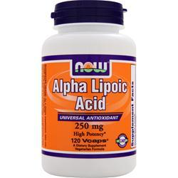 NOW Alpha Lipoic Acid (250mg) 120 vcaps