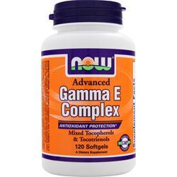 NOW Advanced Gamma E Complex 120 sgels