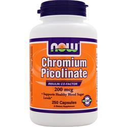 NOW Chromium Picolinate (200mcg) 250 caps