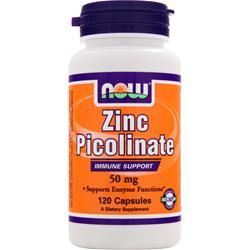 NOW Zinc Picolinate (50mg) 120 caps
