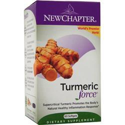 NEW CHAPTER Turmeric Force 60 sgels