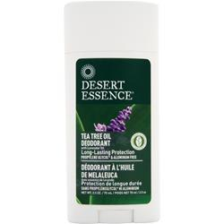 Desert Essence Tea Tree Oil Deodorant with Lavendar Oil 2.5 fl.oz