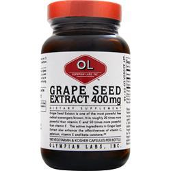 OLYMPIAN LABS Grape Seed Extract Naturopathic (400mg) 100 caps