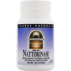 SOURCE NATURALS Nattokinase (100mg) 30 caps