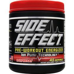 Side Effect Pre-Workout Energizer Raspberry 275 grams