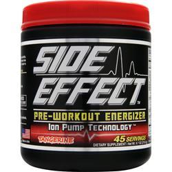 SIDE EFFECT Pre-Workout Energizer Tangerine 275 grams