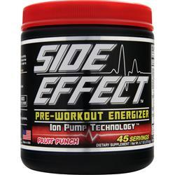 SIDE EFFECT Pre-Workout Energizer Fruit Punch 275 grams