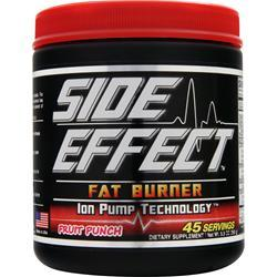 SIDE EFFECT Fat Burner Fruit Punch 250 grams