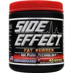 SIDE EFFECT Fat Burner Blue Raspberry 250 grams