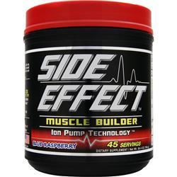 SIDE EFFECT Muscle Builder Blue Raspberry 750 grams