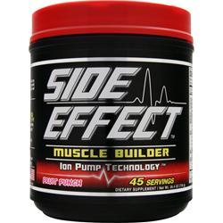 SIDE EFFECT Muscle Builder Fruit Punch 750 grams