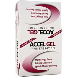 PACIFIC HEALTH Accel Gel Strawberry Kiwi 24 pckts