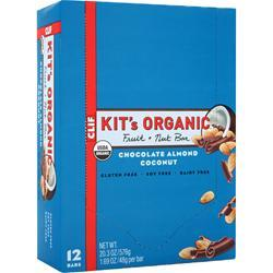 CLIF BAR Kit's Organic Fruit + Nut Bar Chocolate Almond Coconut 12 bars