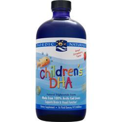 NORDIC NATURALS Children's DHA Liquid Strawberry 16 fl.oz