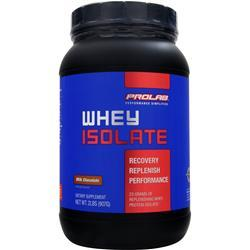 PROLAB NUTRITION Isolate Whey Protein Milk Chocolate 2 lbs