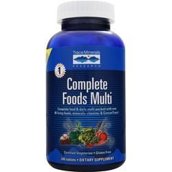 TRACE MINERALS RESEARCH Complete Foods Multi 240 tabs