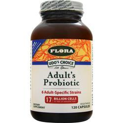 FLORA Udo's Choice Adult's Probiotic 120 caps