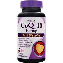 Natrol CoQ-10 (100mg) - Fast Dissolve Cherry 30 tabs
