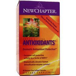 New Chapter Supercritical Antioxidants 60 sgels