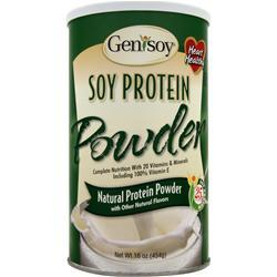GENISOY Soy Protein Powder Natural 16 oz