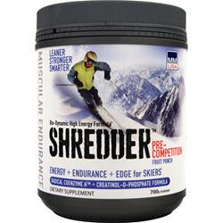 MMUSA Shredder Pre-Competition Fruit Punch EXPIRES 11/17 700 grams