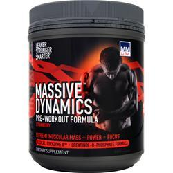 MMUSA Massive Dynamics Pre-Workout Formula Strawberry 800 grams