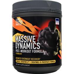 MMUSA Massive Dynamics Post-Workout Formula Strawberry 800 grams