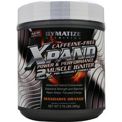 Dymatize Nutrition Xpand Power & Performance - Caffeine Free Mandarin Orange .79 lbs