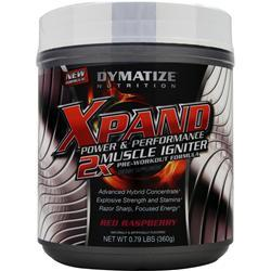 DYMATIZE NUTRITION Xpand Power & Performance - 2X Muscle Igniter Red Raspberry .79 lbs