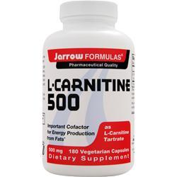 JARROW L-Carnitine 500 180 caps