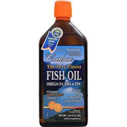 CARLSON The Very Finest Fish Oil Liquid Orange 500 mL
