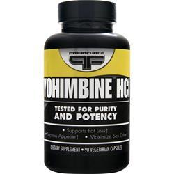 PRIMAFORCE Yohimbine HCL (2.5mg) 90 vcaps