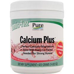 PURE ESSENCE LABS Ionic-Fizz Calcium Plus Raspberry Lemonade 15 oz