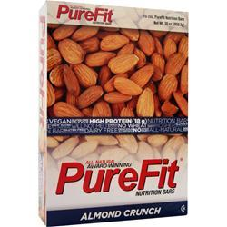PUREFIT PureFit Nutrition Bar Almond Crunch 15 bars