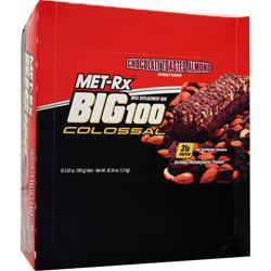 MET-RX Big 100 Colossal Bar Chocolate Toasted Almond 12 bars