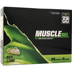 MUSCLE PHARM MuscleGel Shot Key Lime 12 pckts
