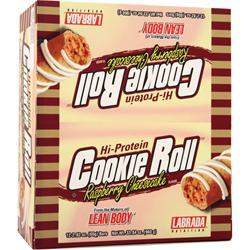 Labrada Cookie Roll Bar Raspberry Cheesecake 12 bars