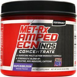 Met-Rx Amped ECN - NOS Concentrate Grape Bubblegum 8.8 oz