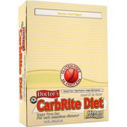 Universal Nutrition Doctor's Diet CarbRite Bar Lemon Meringue 12 bars
