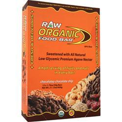 ORGANIC FOOD BAR Raw Bar Chocolatey Chocolate Chip 12 bars