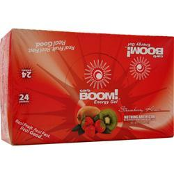CARB BOOM Energy Gel Strawberry Kiwi 24 pckts