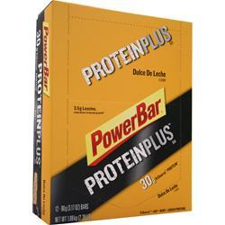 POWERBAR Protein Plus Bar (High Protein) Dulce de Leche 12 bars