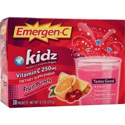 Alacer Emergen-C Kidz Fruit Punch 30 pckts