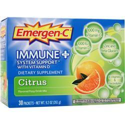 ALACER Emer'gen-C Immune + System Booster Citrus w/ Vitamin D 30 pckts
